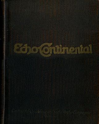 Echo Continental Klemmordner ca. 1920