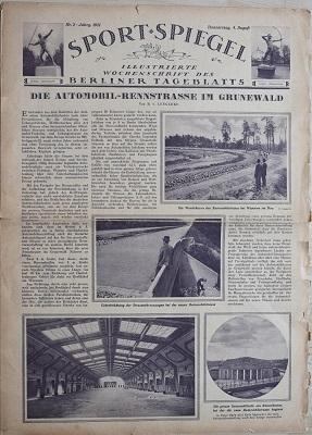 Sport Spiegel 1921-1924