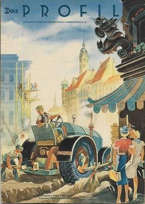 Das Profil / Metzeler 1938 Heft 2
