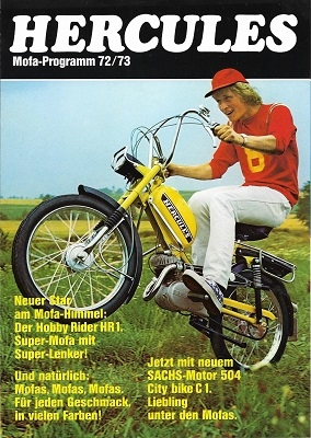 Hercules Mofa Programm 1972/1973 oder 1973