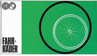 Puch Fahrrad Programm ca. 1975