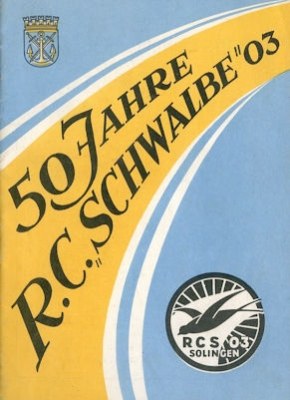 50 Jahre RC Schwalbe 03 Solingen 1953