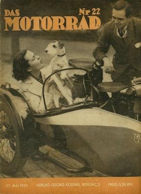 Das Motorrad 1939 Heft 22