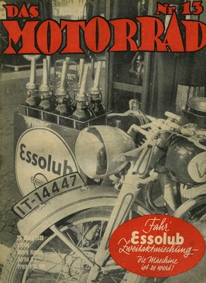 Das Motorrad 1939 Heft 13