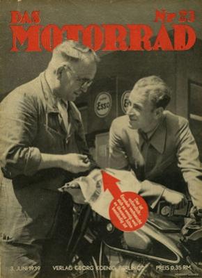 Das Motorrad 1939 Heft 23
