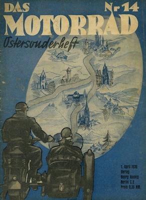 Das Motorrad 1939 Heft 14