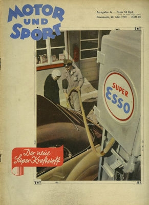 Motor & Sport 1939 Heft 22