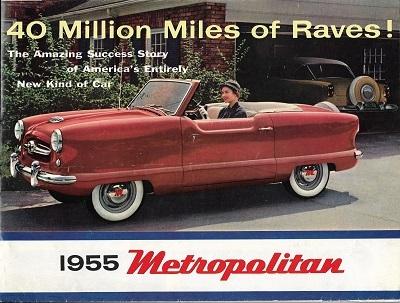 Nash Metropolitan Prospekt 1955