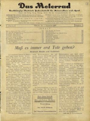 Das Motorrad 1928 Heft 18