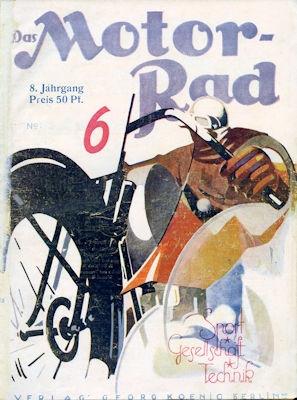 Das Motorrad 1928 Heft 6
