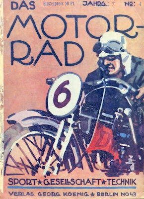 Das Motorrad 1927 Heft 4