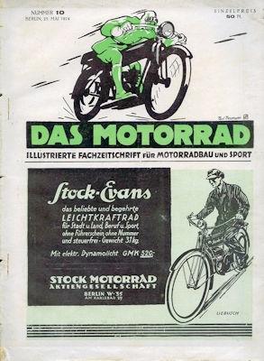 Das Motorrad 1924 Heft 10