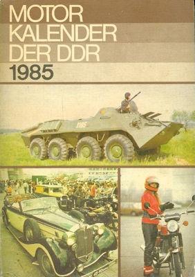 Motor-Kalender der DDR 1985
