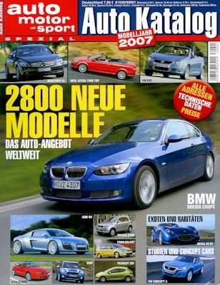 Auto Katalog 2007 Nr.50