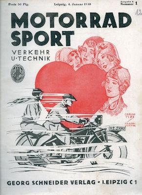 Motorrad Verkehr Sport und Technik 1930 Heft 1