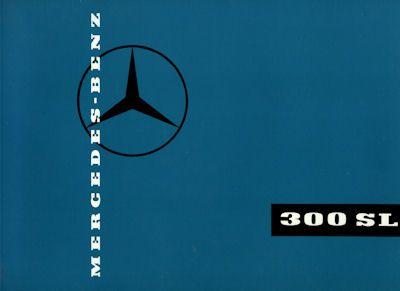 Mercedes-Benz 300 SL Prospekt 1959 Reprint