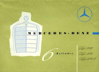 Mercedes-Benz 6 Zylinder Programm 1955 Reprint