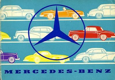 Mercedes-Benz Programm ca. 1956 Reprint