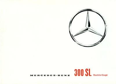 Mercedes-Benz 300 SL Prospekt 7.1962 Reprint
