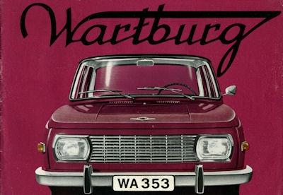 Wartburg 353 Prospekt 1968