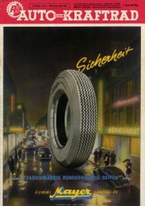Auto und Kraftrad 1952 Heft 5