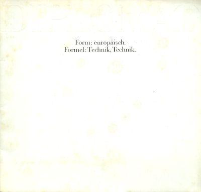 Opel Diplamat Prospekt 2.1969 0