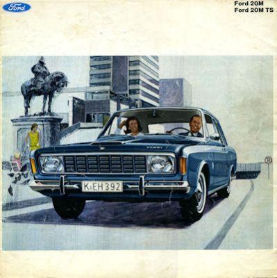 Ford Taunus 20 M 20 TS Prospekt ca. 1969 0