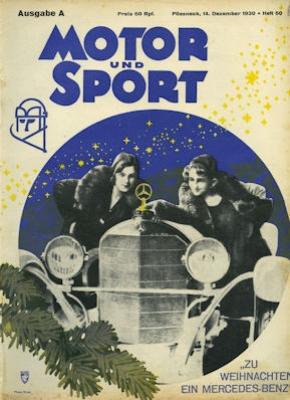 Motor & Sport 1930 Heft 50