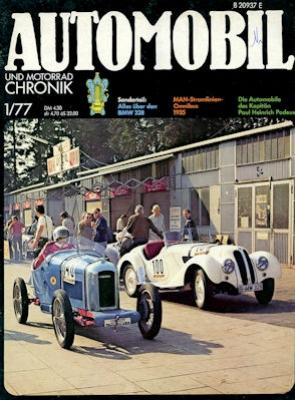 Automobil und Motorrad Chronik 1977 Heft 1