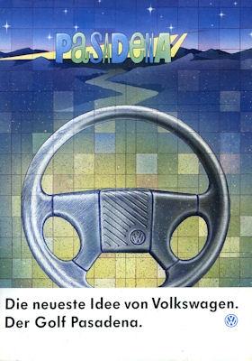 VW Golf 2 Pasadena Prospekt 1991 0