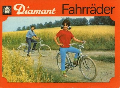 Diamant Fahrrad Prospekt 1968 Nr. VEBDia681 oldthing: Fahrrad