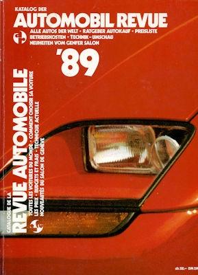 Automobil Revue 1989