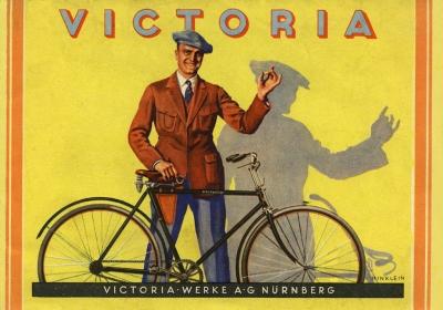 Victoria Fahrrad Programm 1920er Jahre 0