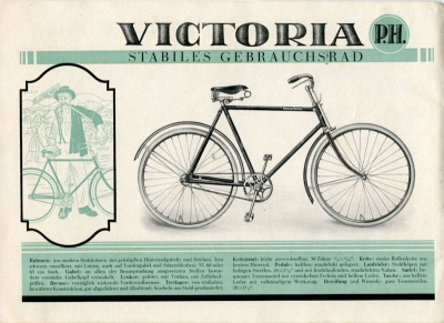Victoria Fahrrad Programm 1920er Jahre 2
