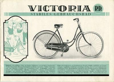 Victoria Fahrrad Programm 1920er Jahre 3