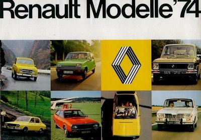 Renault Programm 1974