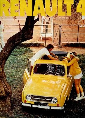 Renault 4 Prospekt 1974