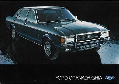 Ford Granada Ghia Prospekt 1975 0