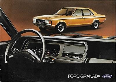 Ford Granada Prospekt 1975