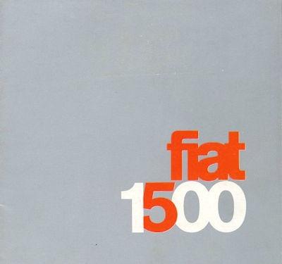 Fiat 1500 Prospekt ca. 1965 0