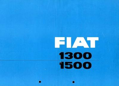 Fiat 1300 / 1500 Prospekt ca. 1964