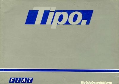 Fiat Tipo Bedienungsanleitung 10.1990