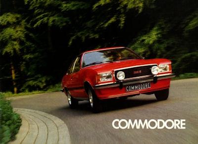 Opel Commodore Prospekt 7.1973 f