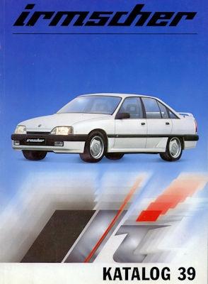 Opel Irmscher Katalog 39 1985