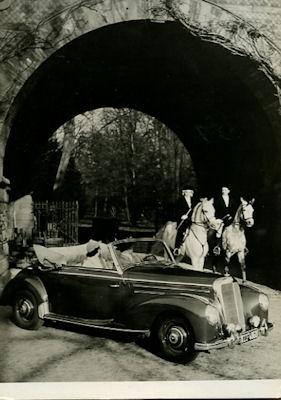 Ansichtskarte Mercedes-Benz 220 Cabriolet A 1953