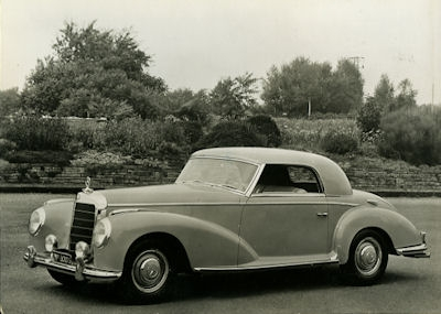Ansichtskarte Mercedes-Benz 300 S Coupé 1953