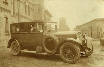 Original Foto Benz 1920er Jahre