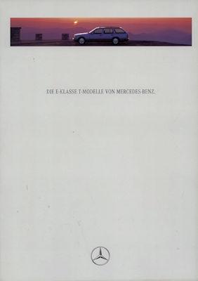 Mercedes-Benz E-Klasse T-Modelle Prospekt 1995