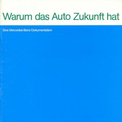 Mercedes-Benz Zukunft-Programm 8.1973 0