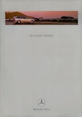 Mercedes-Benz C-Klasse T-Modelle Prospekt 1999